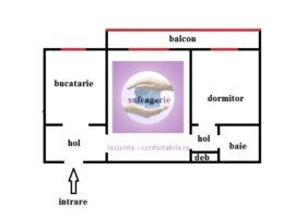 Apartament 2 camere zona Podu Ros