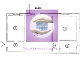 Apartament cu 2 camere in Mircea