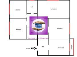 Apartament 3 camere D cf I 130mp in Pacurari Mimoza