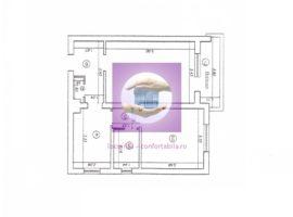 Apartament 2 camere decomandate Alexandru cel Bun