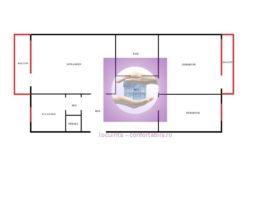 Apartament cu 3 camere decomandate in Podu Ros la bulevard