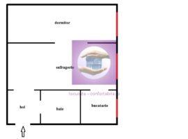 Apartament cu 2 camere in Cantemir