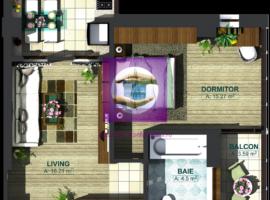 Apartament 2 camere modern in bloc nou foarte aproape de Iulius Mall