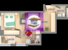 Apartament 2 camere in bloc nou finalizat zona Gara