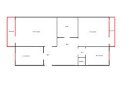 Apartament 3 camere Decomandat modelul cu 2 balcoane
