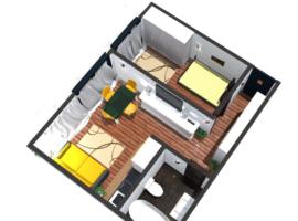 Apartament cu 2 camere in zona CUG langa Bulevard
